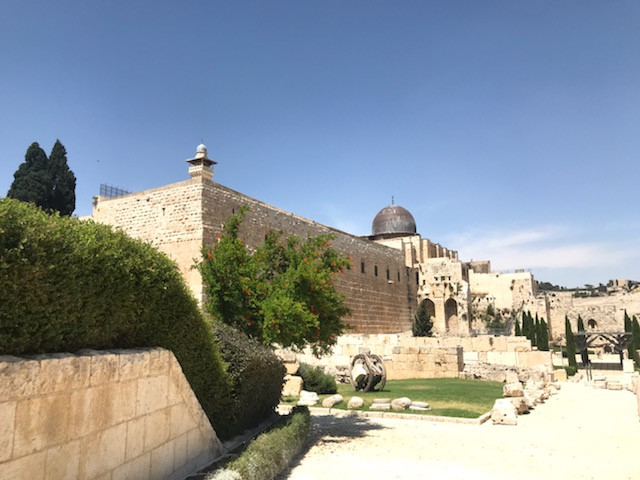 A photo of the City of David in Jerusalem, Israel
