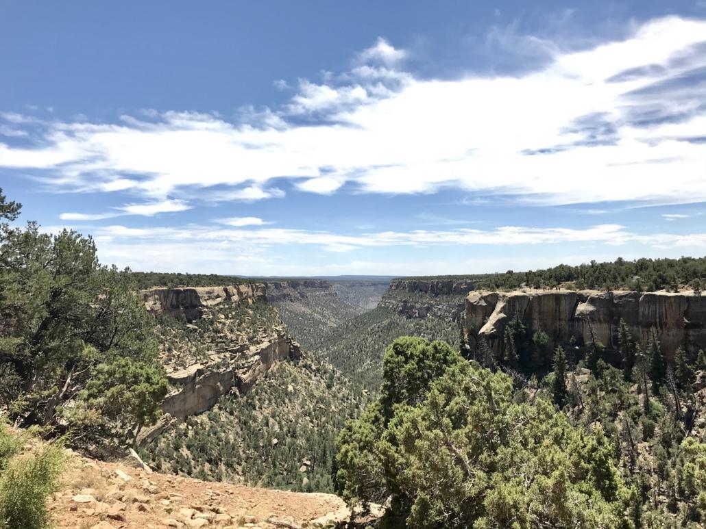 A canyon near Mesa Verde